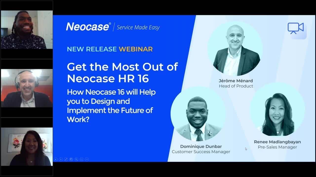 US Webinar - Get the Most Out of Neocase V16