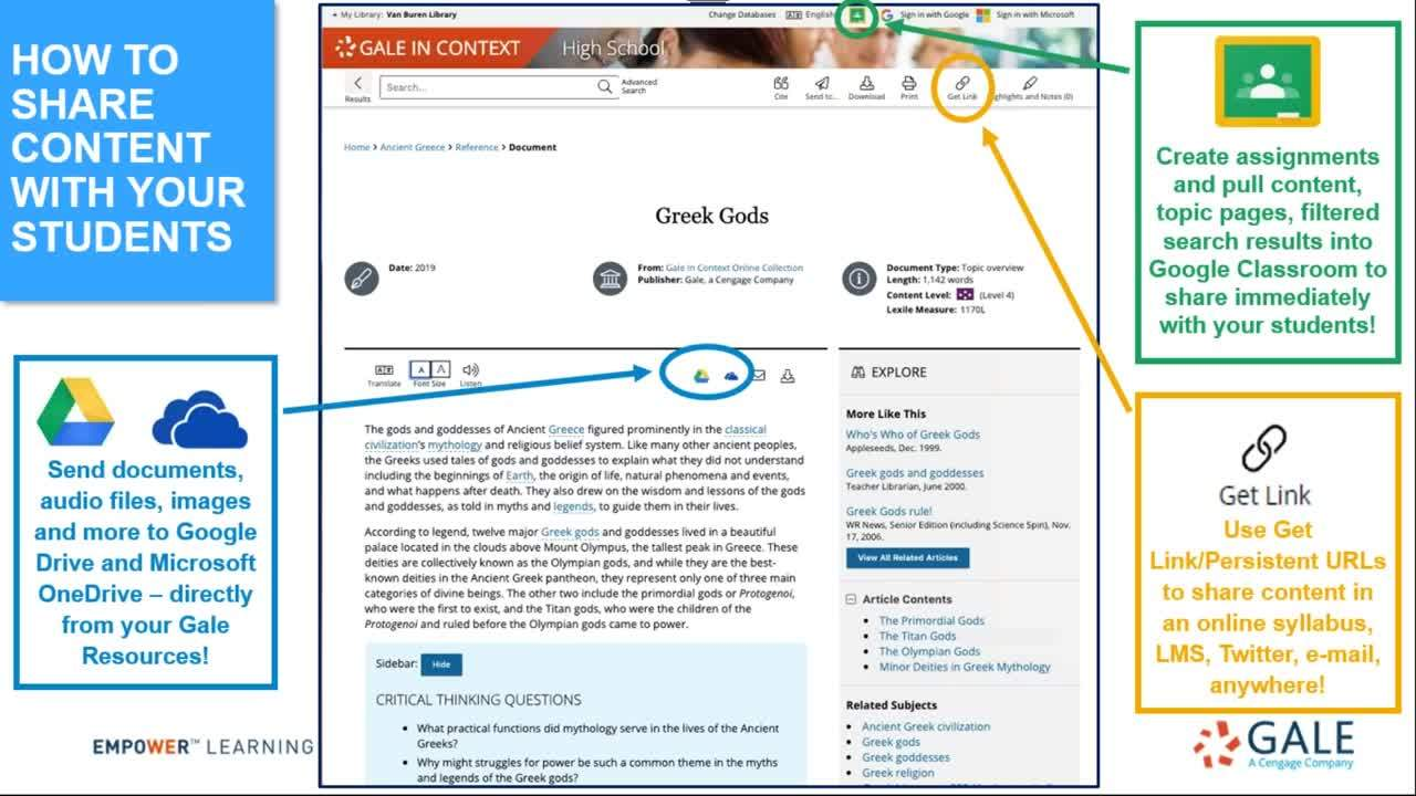Online Learning Tools Within your Gale Resources for K12 Schools Thumbnail