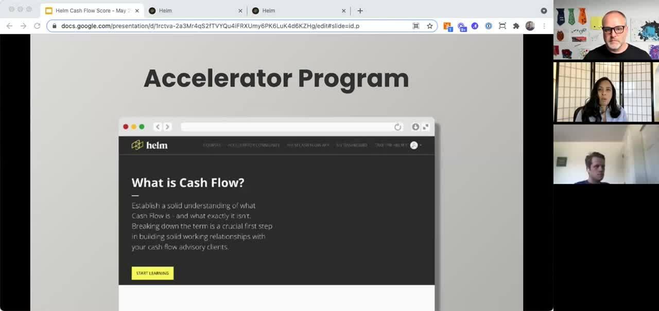 Cash Flow Health Score - Accelerator Program