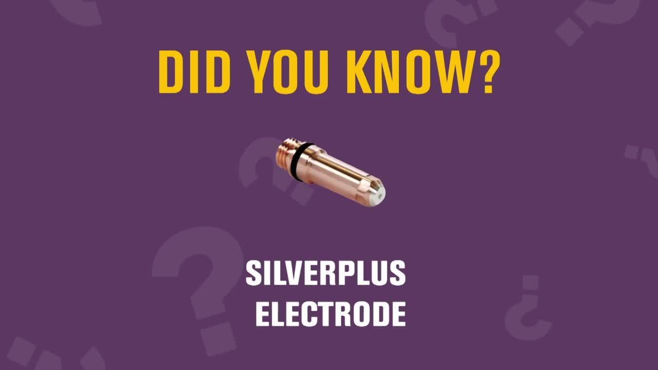 SilverPlus® electrode technology