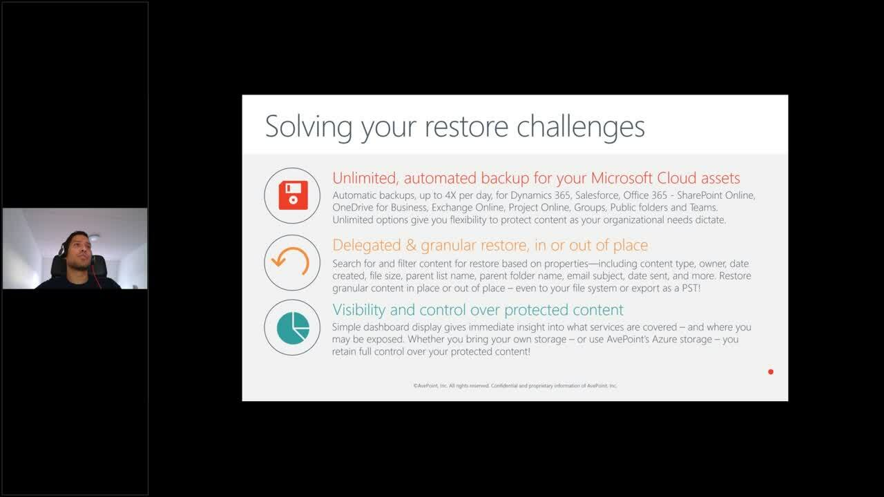Cristie and AvePoint - Protect your entire M365 environment Webinar