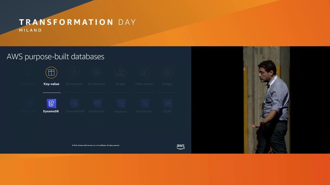 Database su AWS scegliere lo strumento giusto per il giusto obiettivo