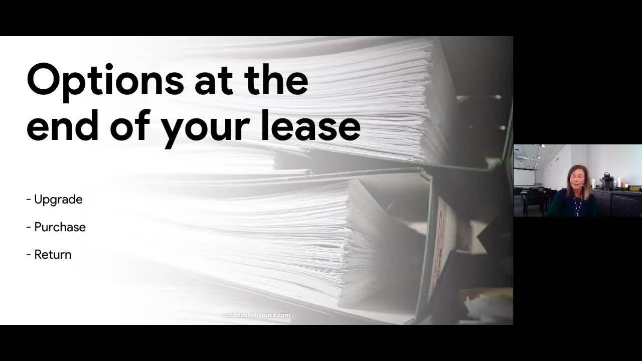 Coffee with Cobb 10.10.2020 Leasing Your Copier What You Need To Know-1
