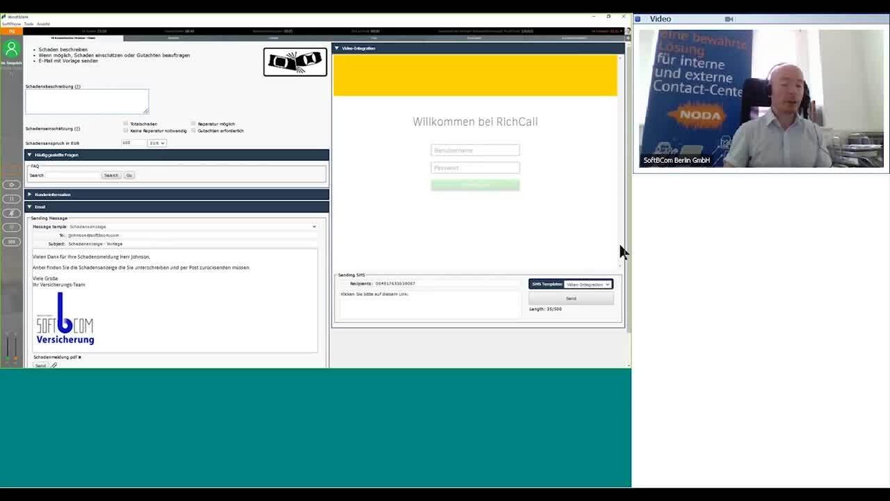Webinar Videocommunication mit Kunden in Ihrer Omnichannelumgebung