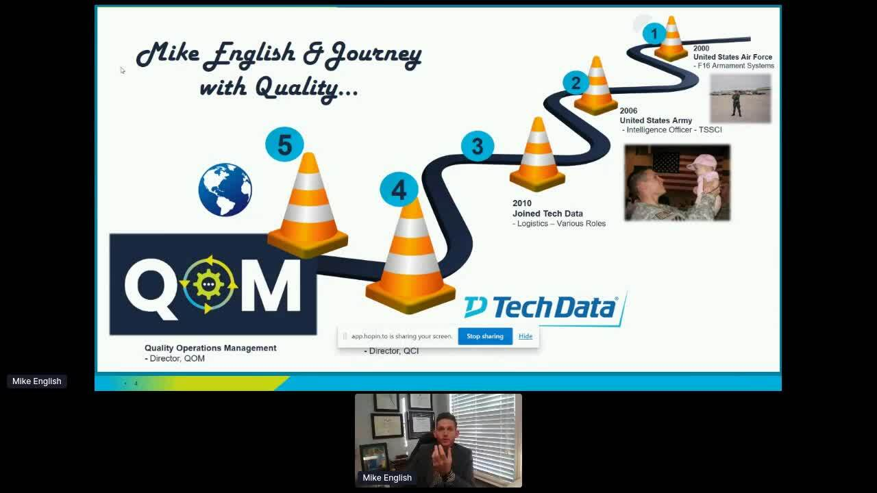 Tech Data Corporation & The Culture of Quality- Mike and Marcus