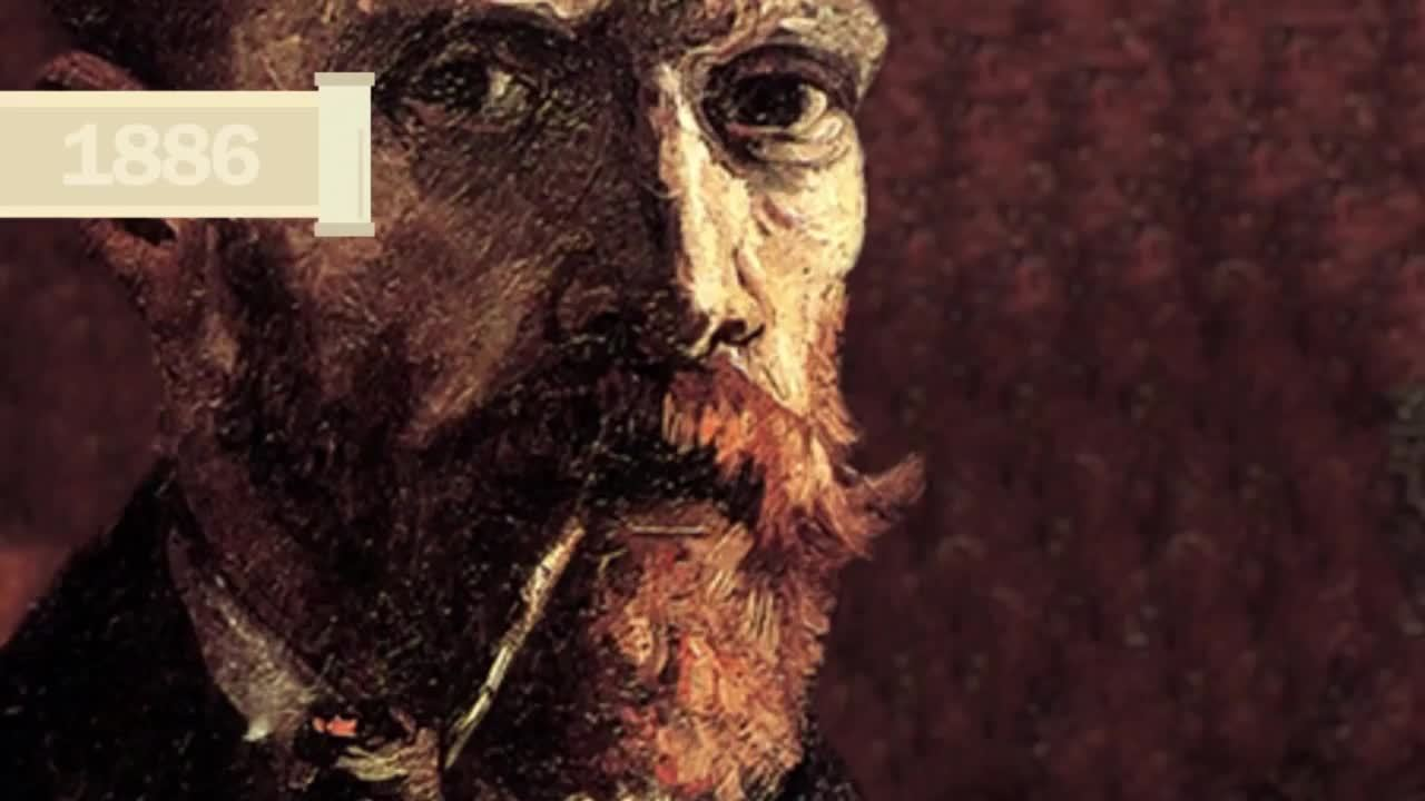 Van Gogh video for art and history lessons