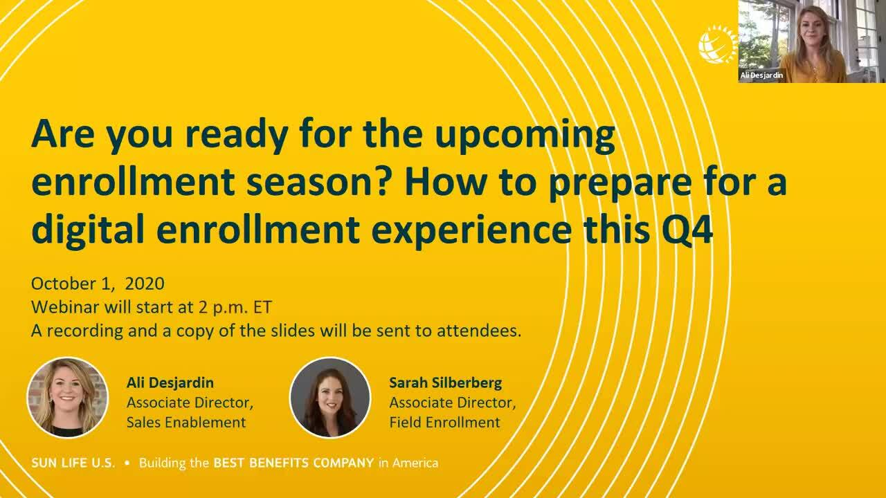How to prepare for a successful virtual enrollment experience this upcoming enrollment seasons
