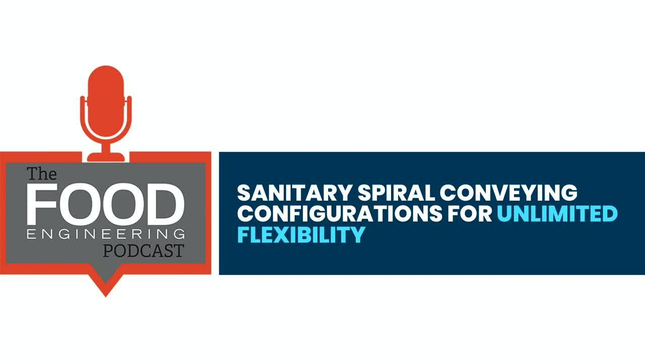 Sanitary Spiral Conveying Configurations for Unlimited Flexibility