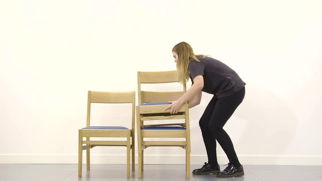 Luke Hughes - Stacking Chair - Short Video V1