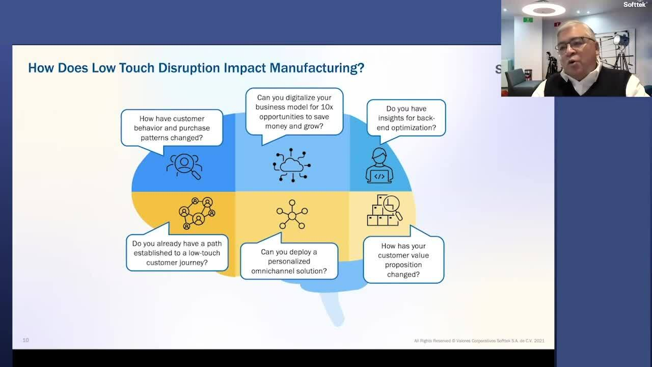 2. How does low touch disruption impact manufacturing