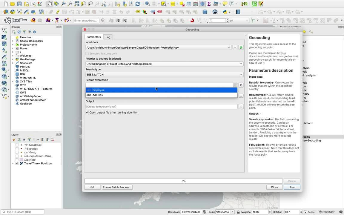 QGIS_Tutorials_Geocoding