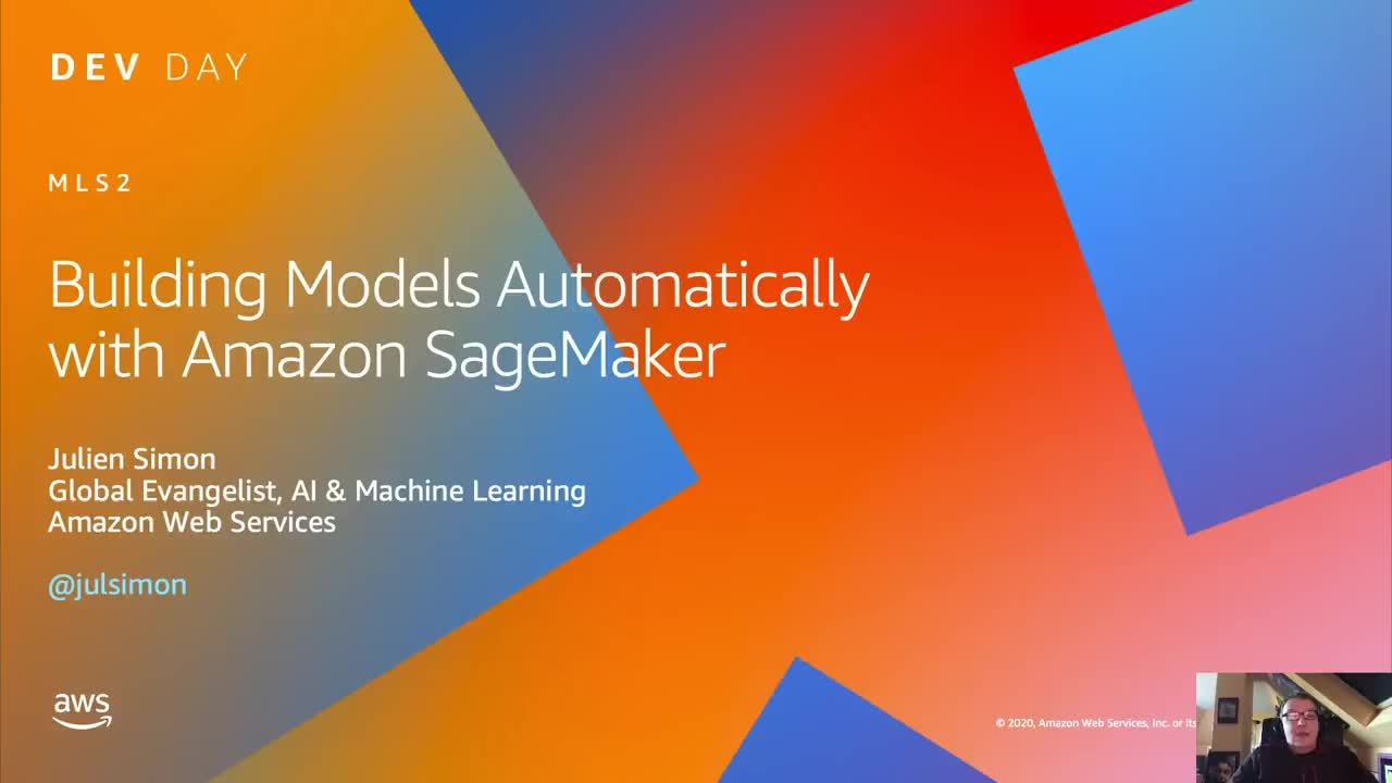 Building Models Automatically with Amazon SageMaker