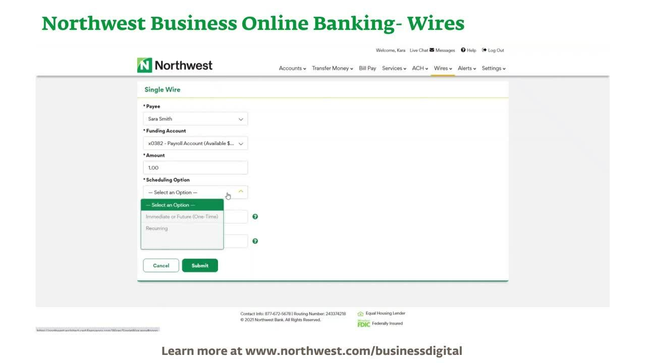 Business Online Banking- Wires Demo Final