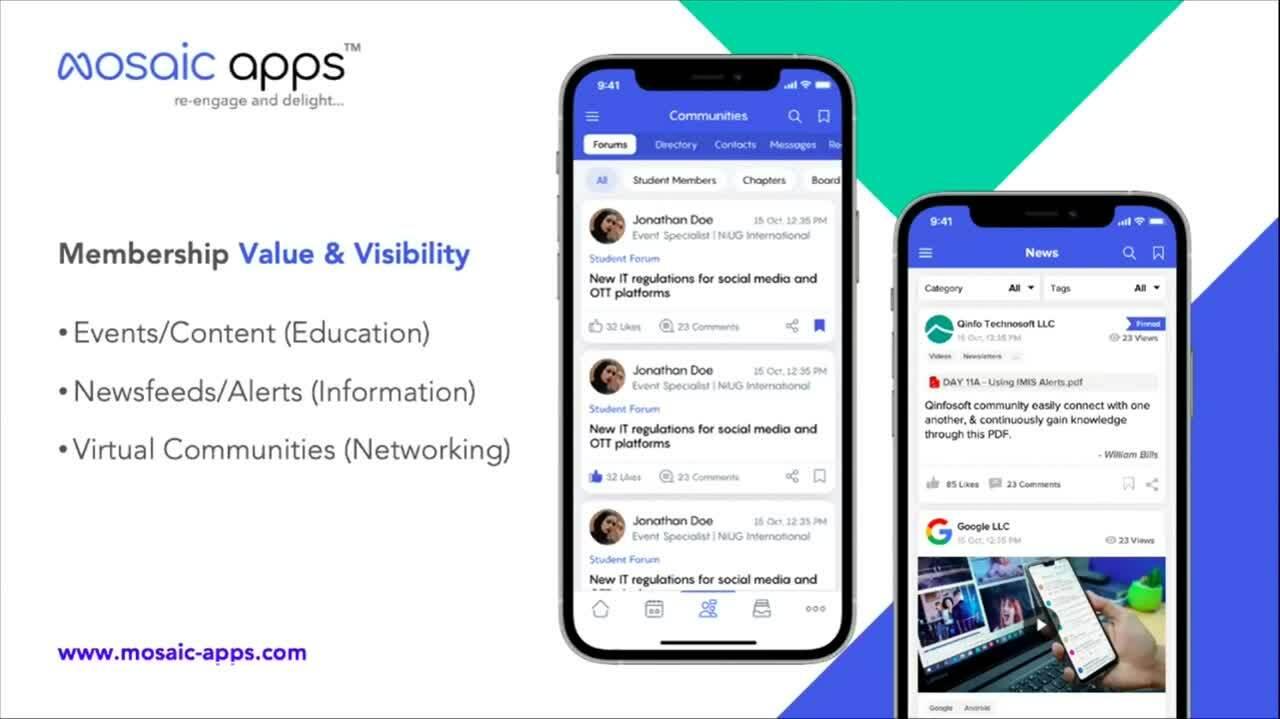MOSAIC Apps DEMO