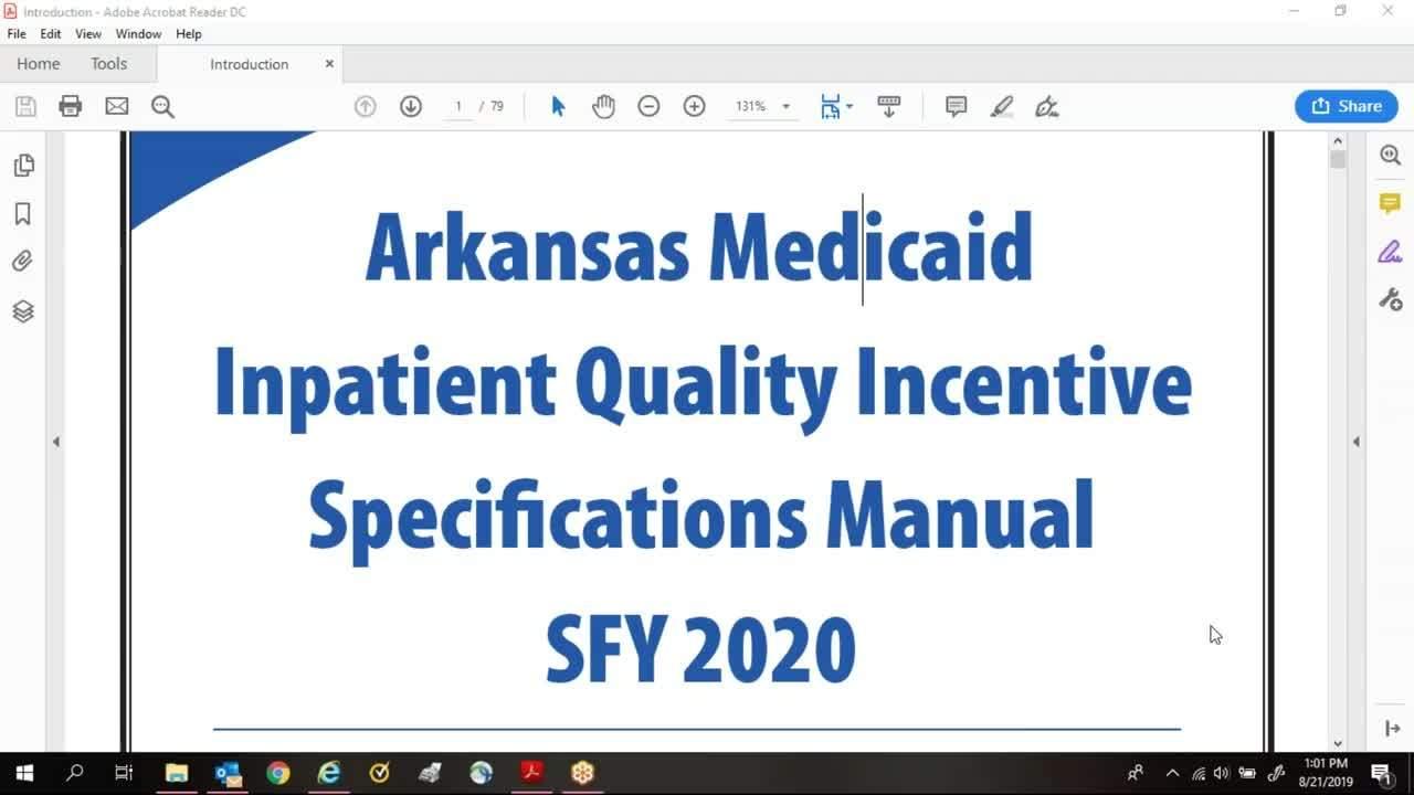 Inpatient Quality Incentive Iqi Program Manual Guide