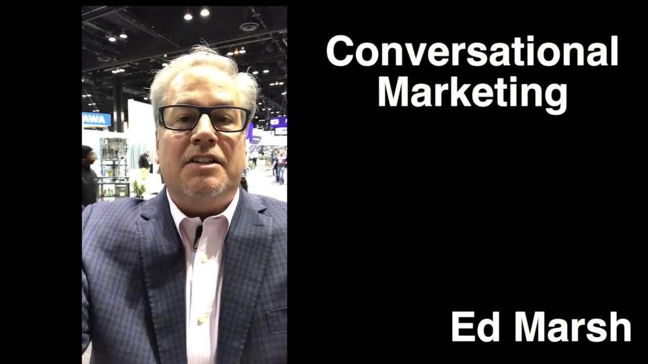 Conversational Marketing like Trade Shows