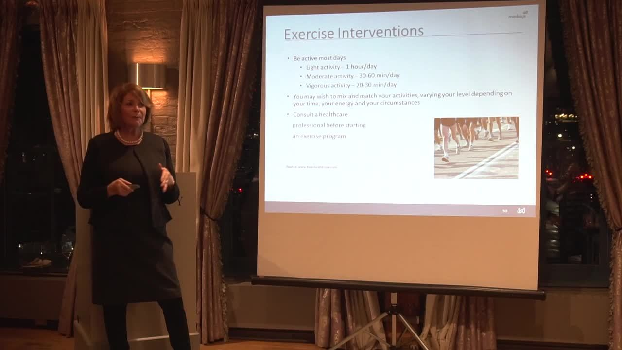 Dr. Brown - Women's Health & Healthy Ageing (Clip - Exercise Intervention)