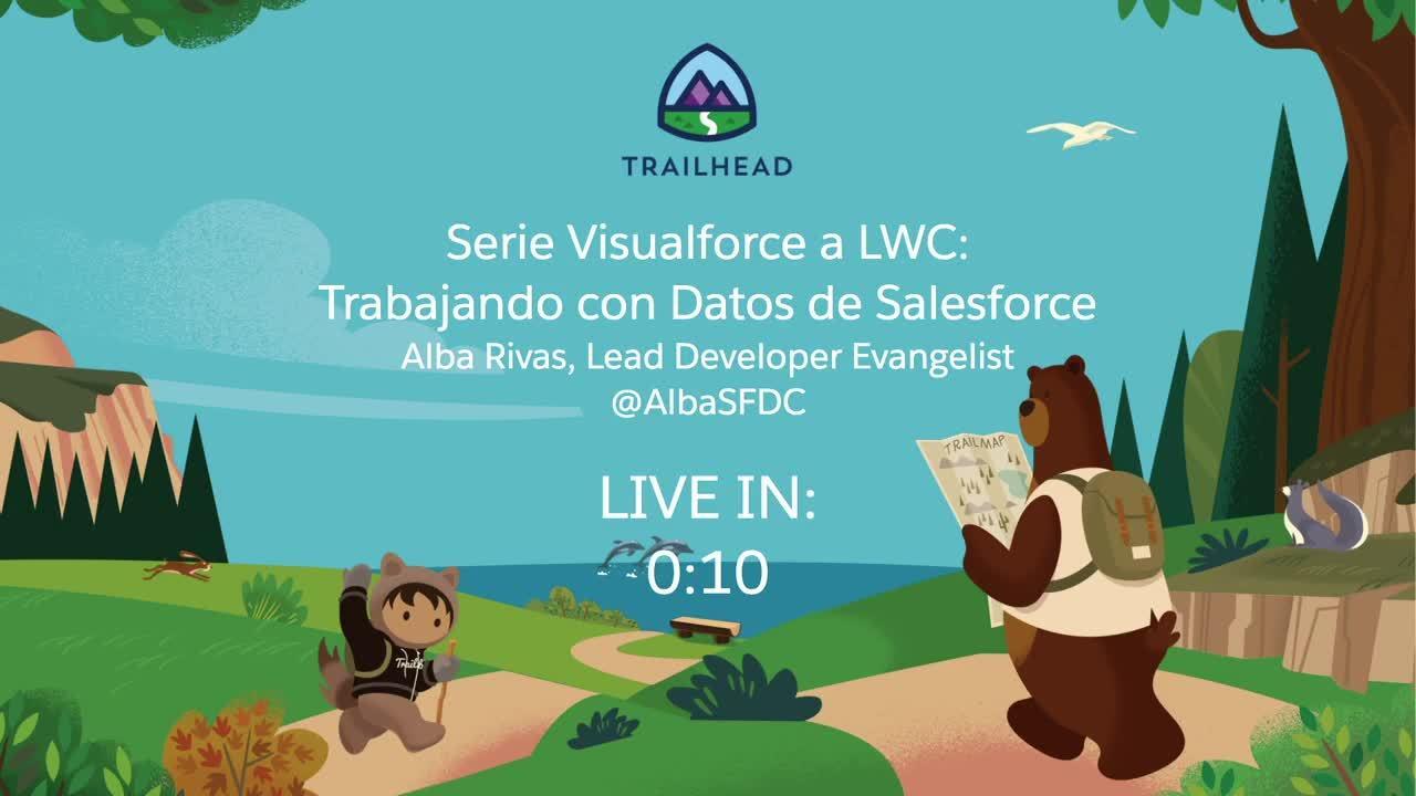Video: Serie Visualforce a LWC: Trabajando con datos de Salesforce