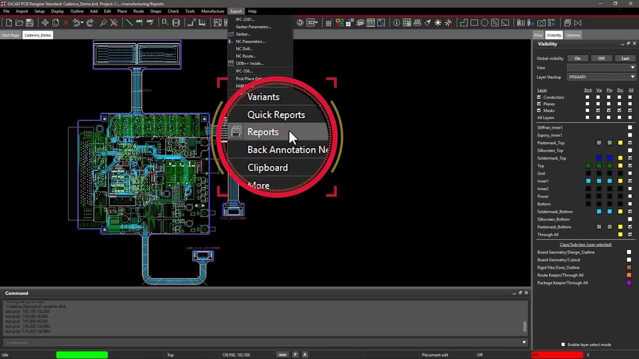 PCB Design Reports