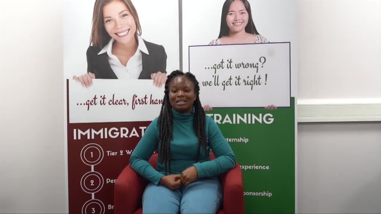 IANS- From Ghana to the UK. Samiria Asamoa's Nursing Story