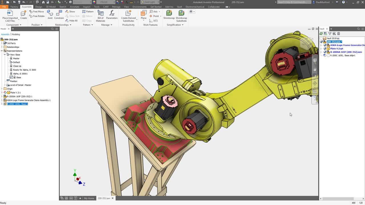 Direct CAD integration