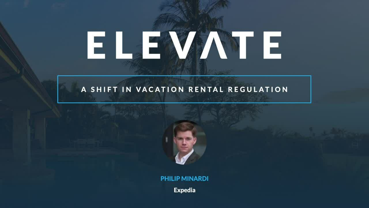 A Shift in Vacation Rental Regulation