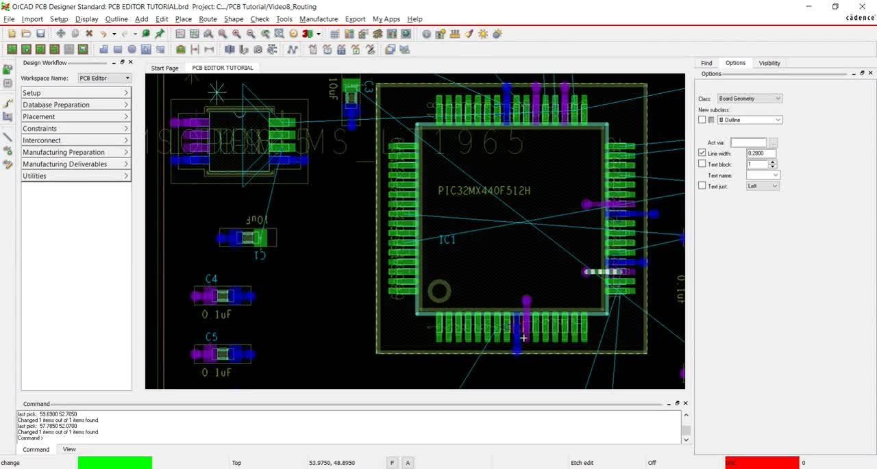 [17.2] PCB Walk-through 8: Routing