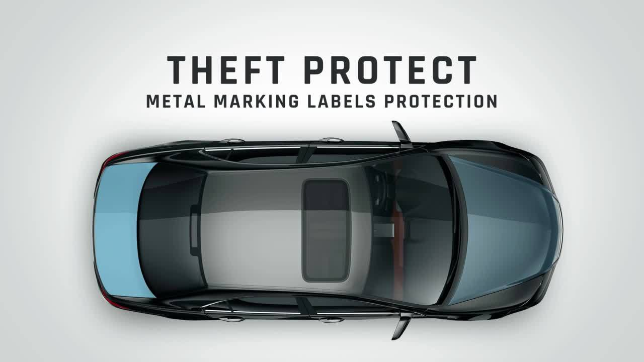 NAE _Theft Protect with Metal Marking Labels_ 0238-4