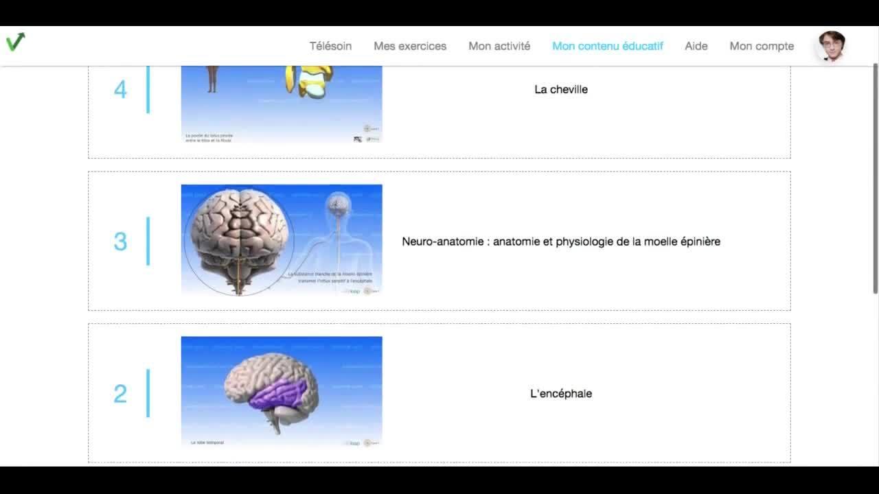 Patient - comment consulter mes videos educatives