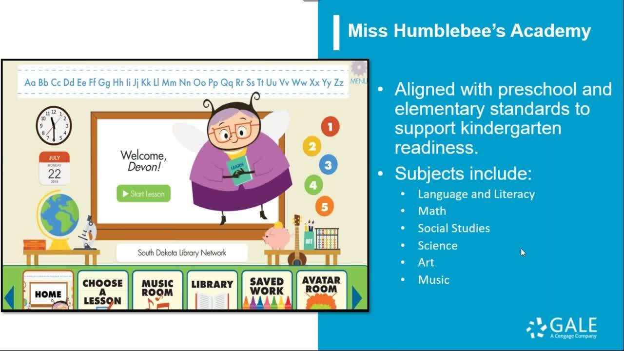 Help Kids Learn at Home with Miss Humblebee's Academy Thumbnail