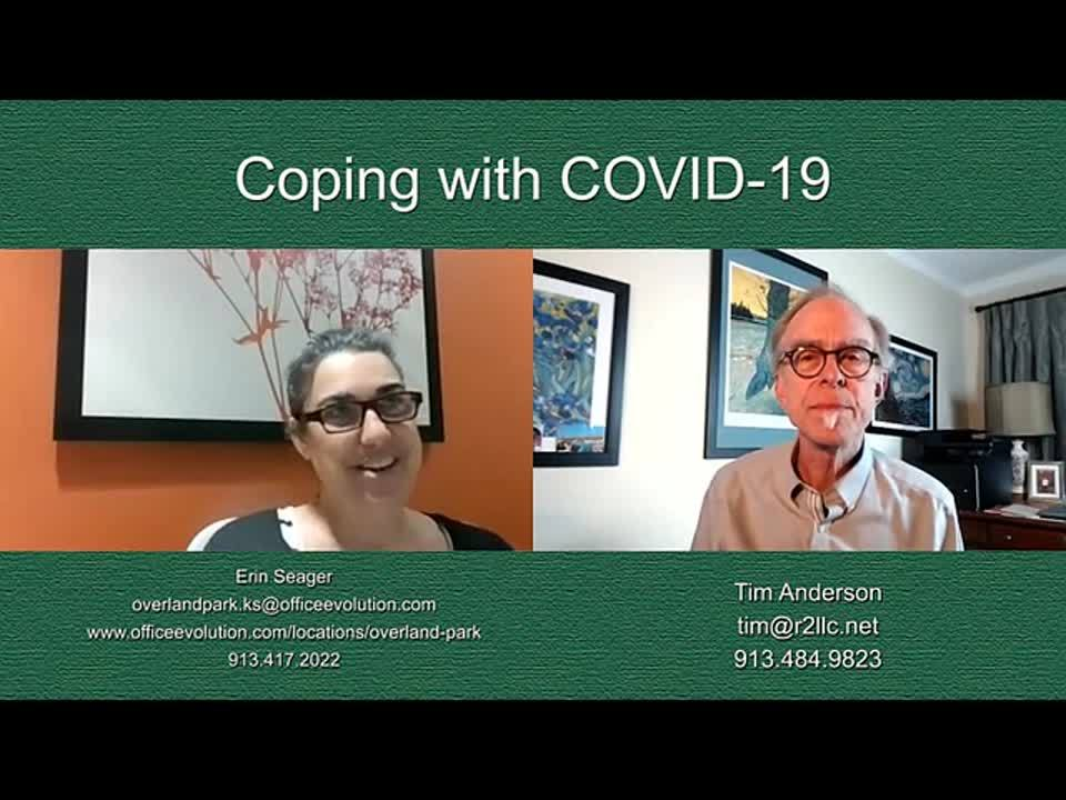 Erin Seager - Coping with COVID-19