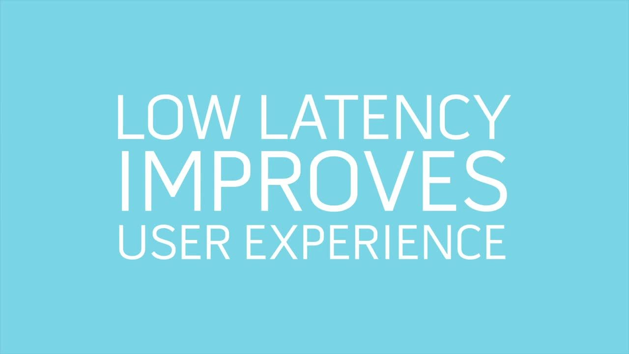 Low Latency, High Impact