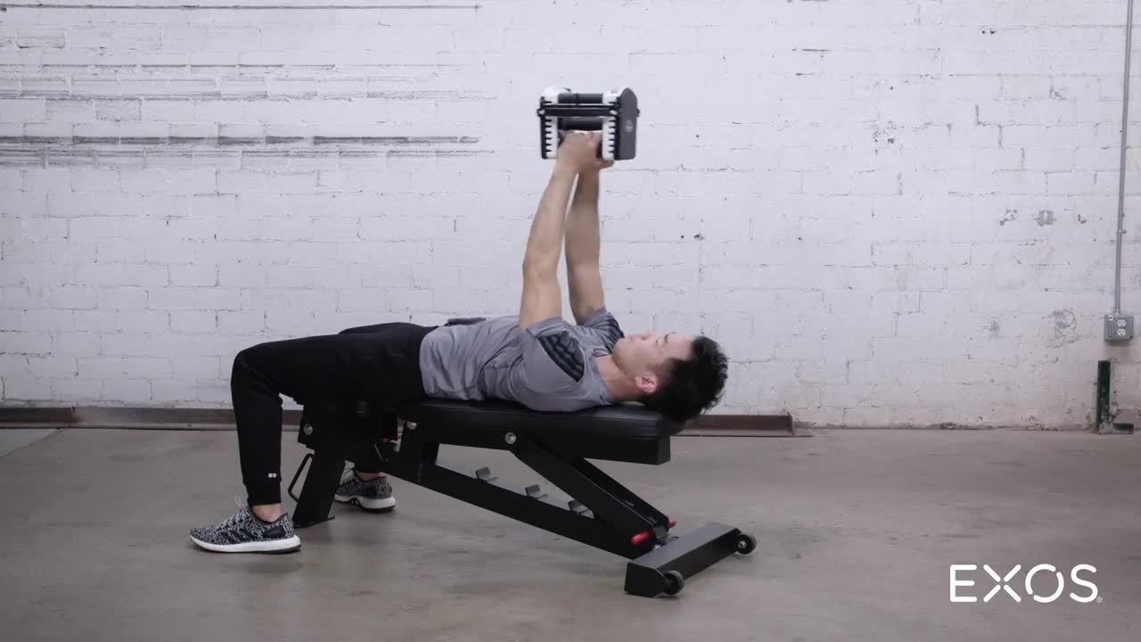 Pull Over to Extension - Dumbbell