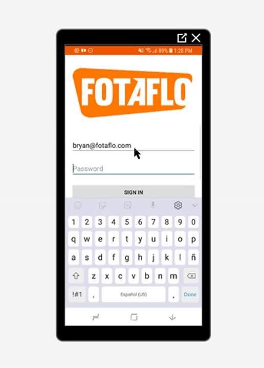 Saas App- Photographer- How To Log Into App