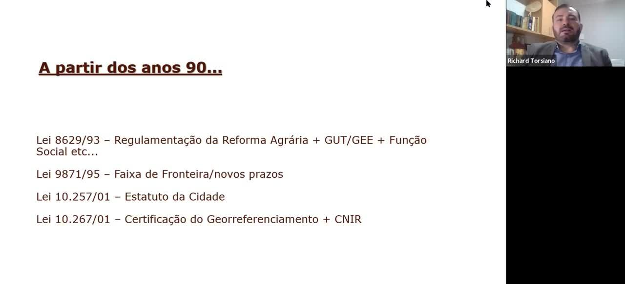 GOVERNANÇA DE TERRAS - Bloco 03