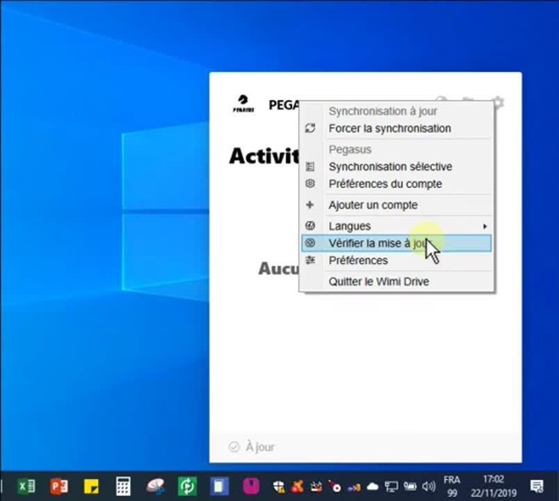 verifier-la-mise-a-jour-de-wimi-drive-sur-windows-miro