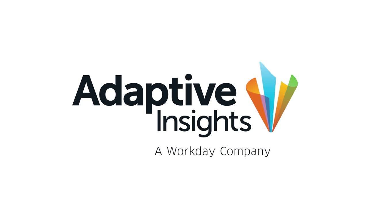 Adaptive Insights Overview