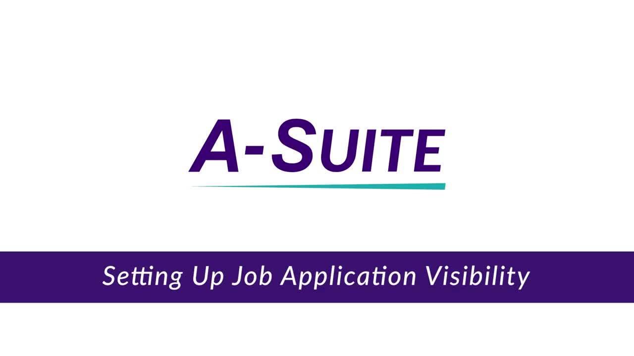 4.5_Setting Up Job Application Visibility
