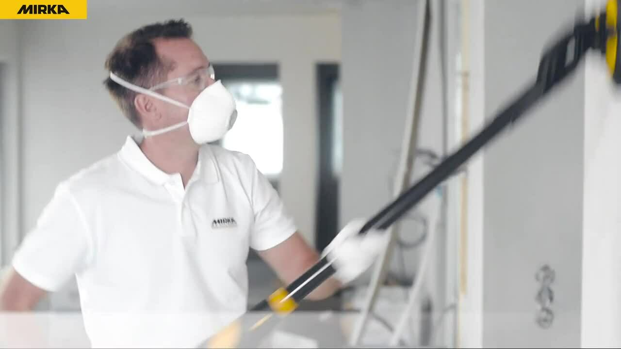 Mirka LEROS - The lightest and most advanced wall and ceiling sander