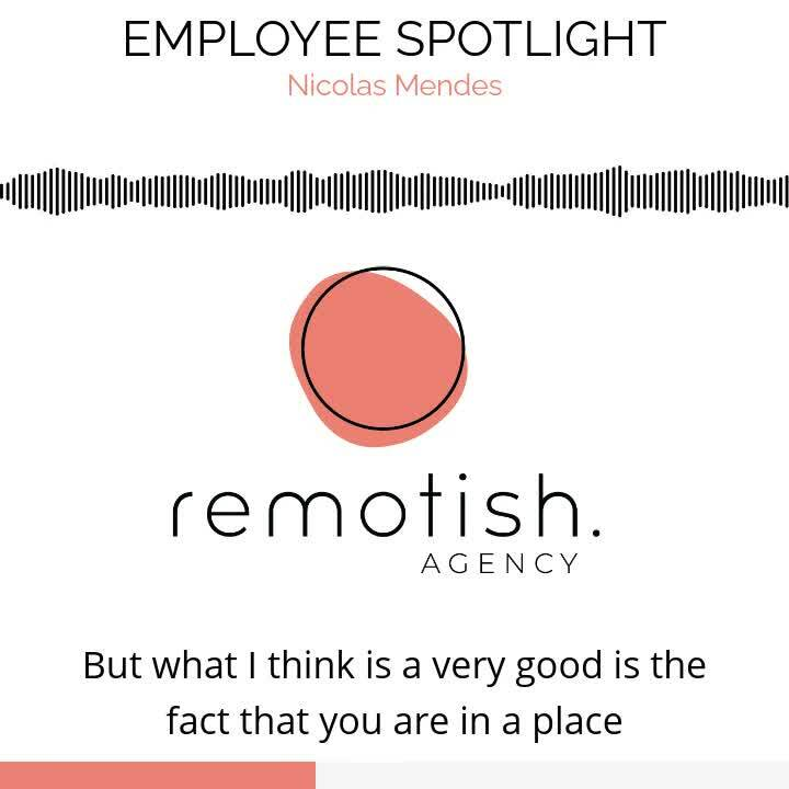 Remotish Employee Spotlight - Nick-1