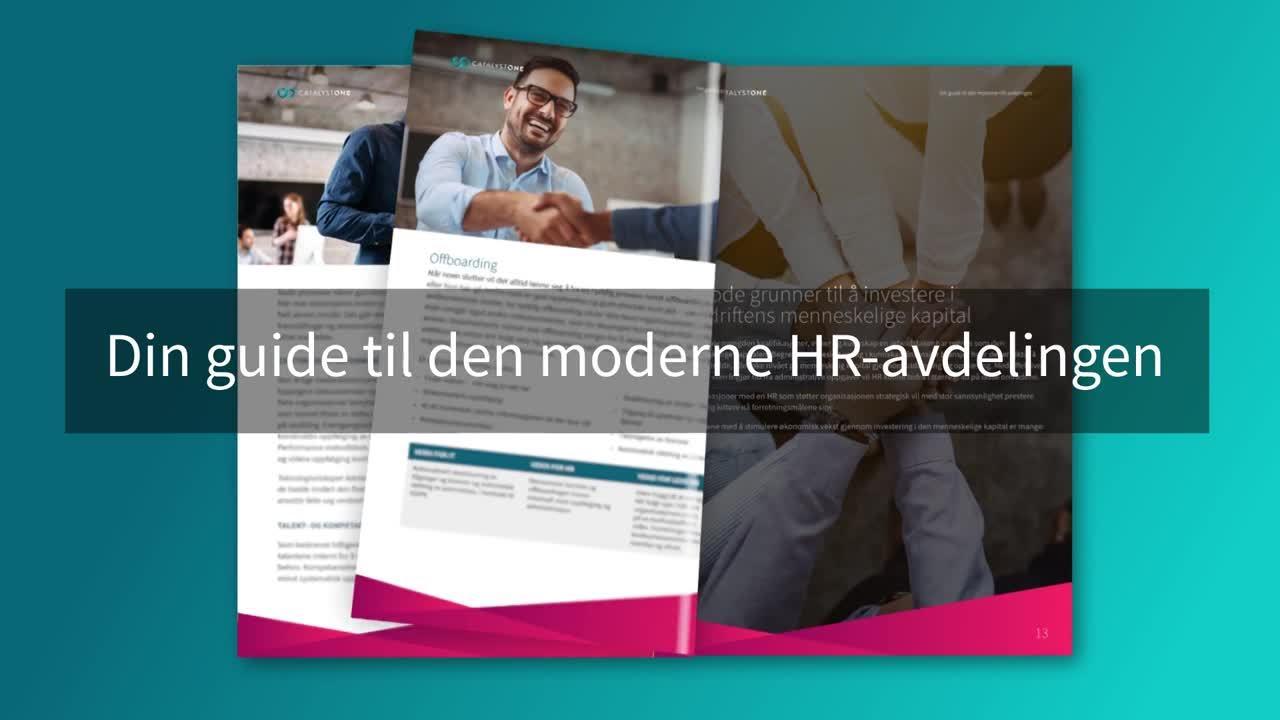 Guide til Moderne HR Avdeling - teaser