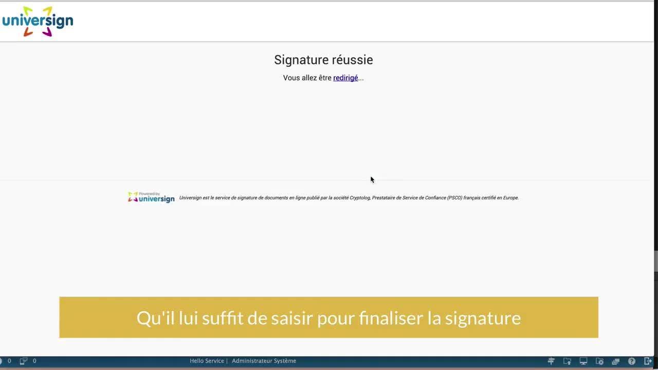 OGUST en Video - Signature electronique