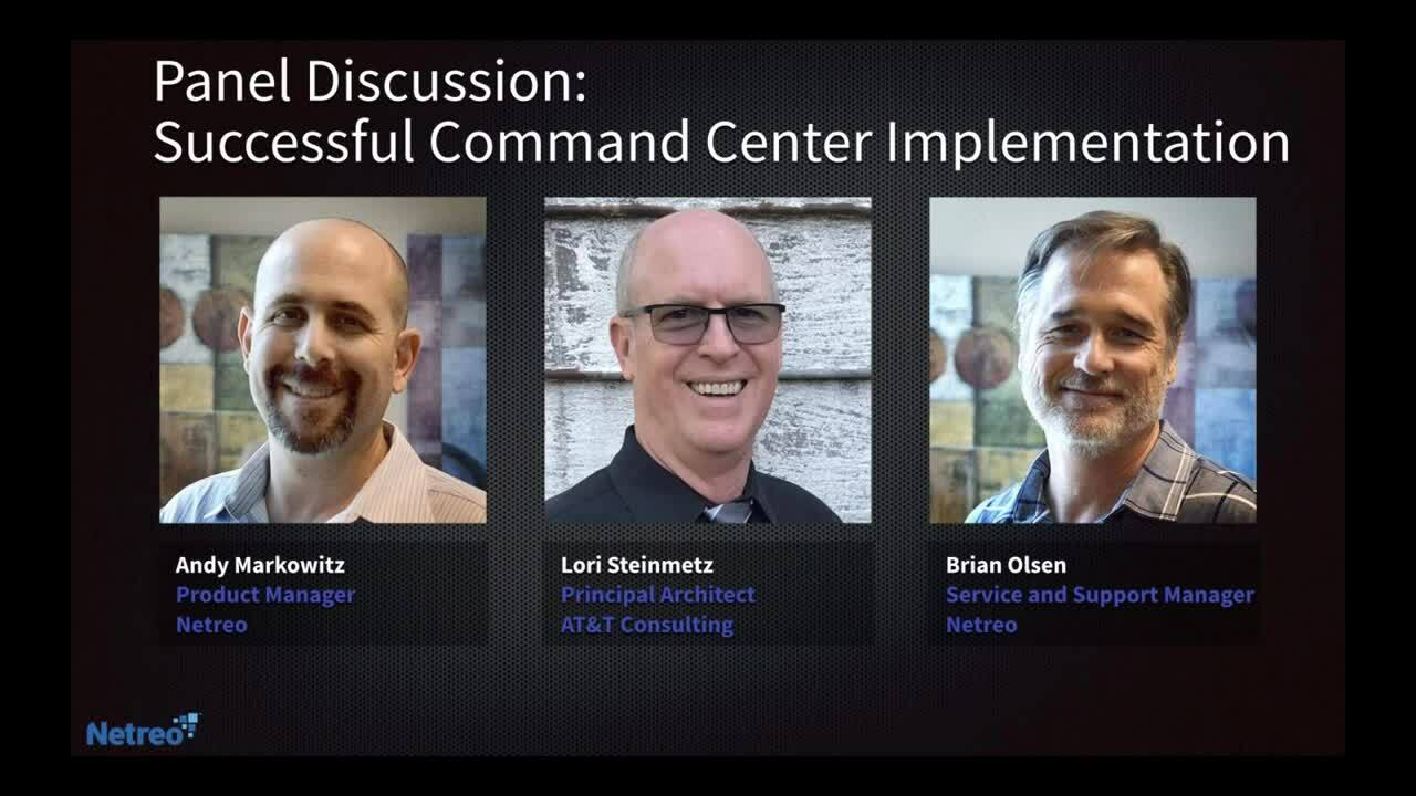 Successful Command Center Implementation - Panel Discussion