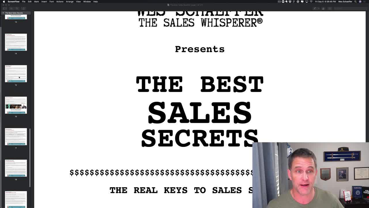 The Best Sales Secrets Welcome