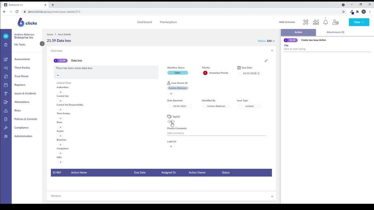 5 - Easily Manage Issues and Incidents