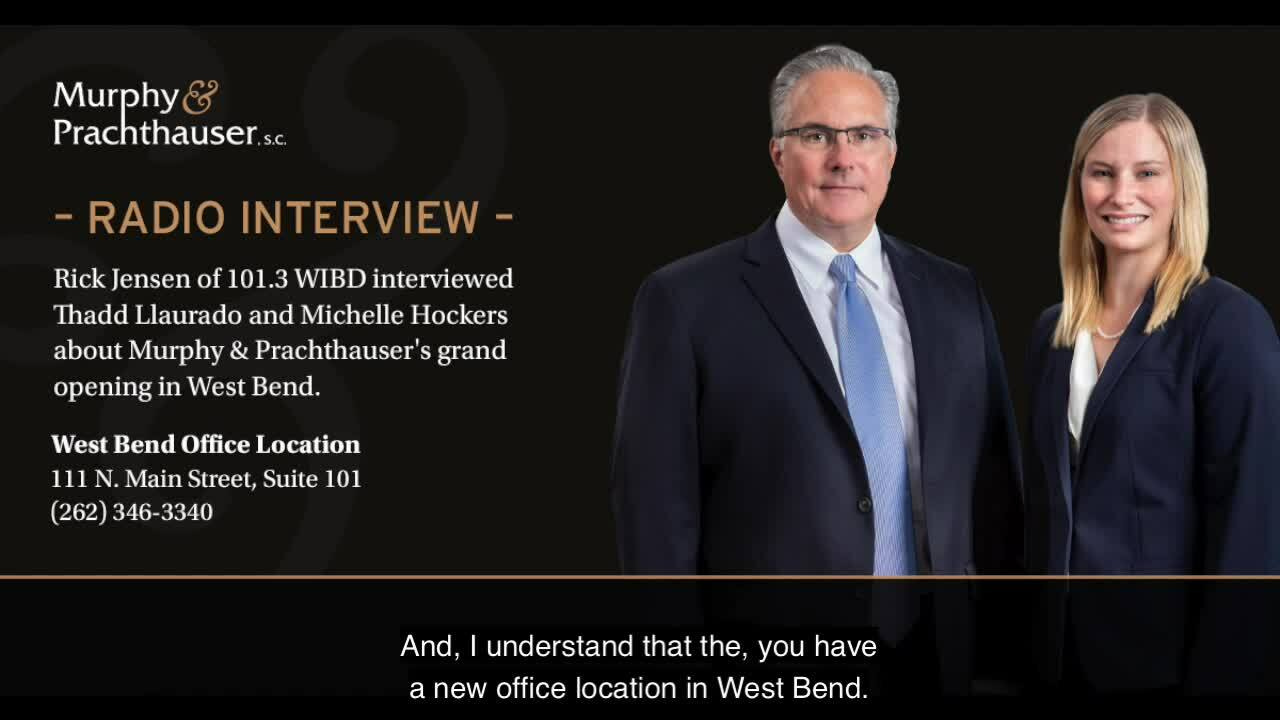 MP - radio interview