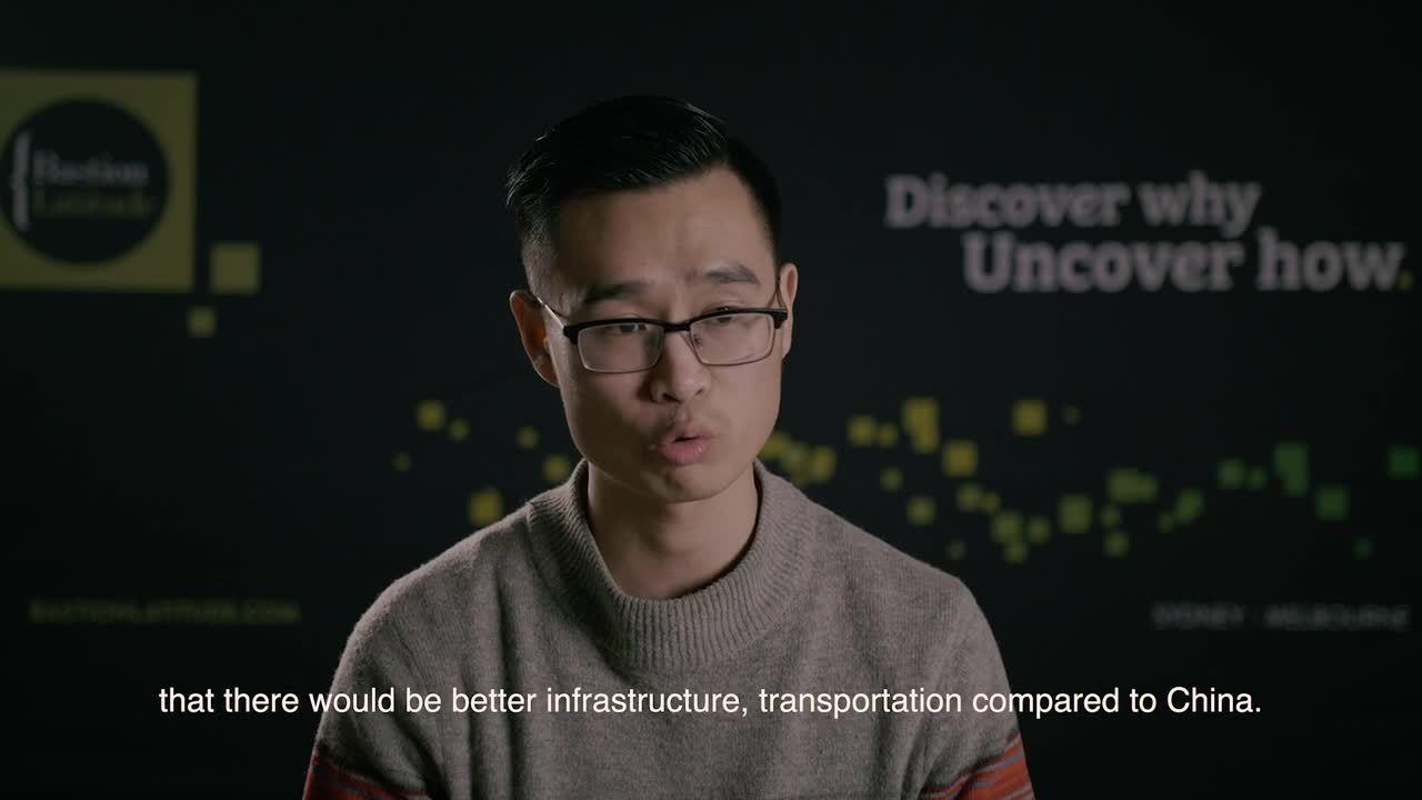GVC Video - Chinese International student Brian
