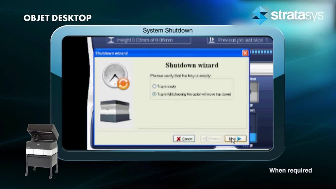 System Shutdown - Desktop