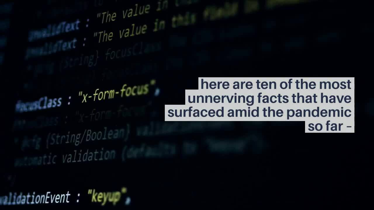 10 Unnerving Facts about Cybercrime amid the pandemic