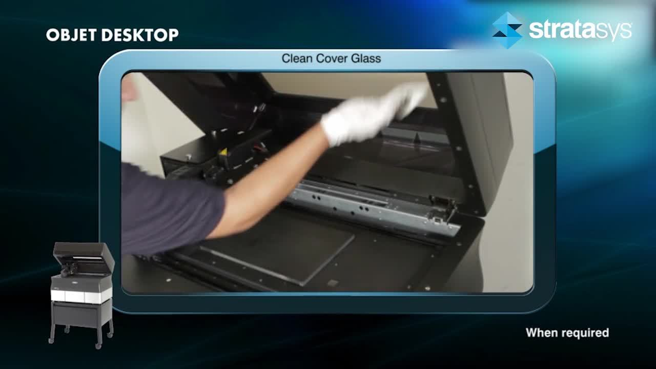 Glass Cover Cleaning - Desktop